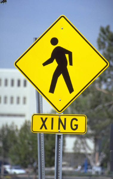 Street Crossing Sign