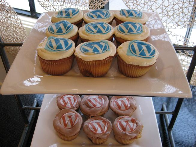 wordpress wordcamp cupcakes san francisco 2009